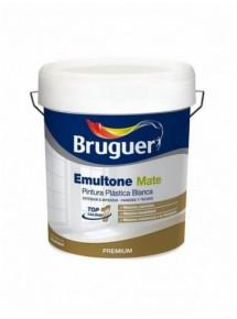 Pintura Plástica Blanca Mate Emultone Marca Bruguer