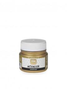 Acualux Metalizado Oro...