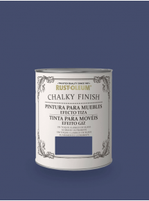 Chalky Finish Muebles Azul Intenso