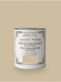 Chalky Finish Muebles Marrón Yute
