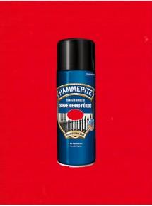 Spray Hammerite Brillante Rojo
